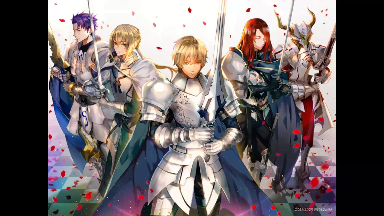 Fate grand order ost knight of round table battle theme for 13 knights of the round table