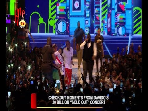 "CHECKOUT MOMENTS FROM DAVIDO'S 30 BILLION ""SOLD OUT"" CONCERT"