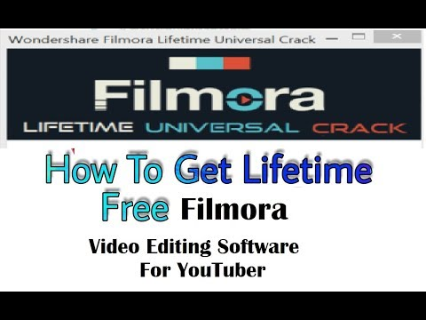 [Hindi/Urdu] Video Editing Software Filmora | How to get Register for life time free | No Crack |