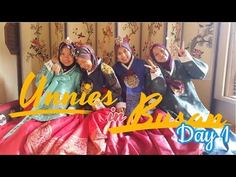 TRIP TO BUSAN DAY 1 (korea)