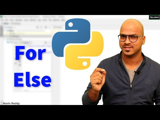 #24 Python Tutorial for Beginners | For Else in Python