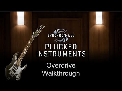 VSL SYNCHRON-ized Overdrive Electric Guitar: Walkthrough