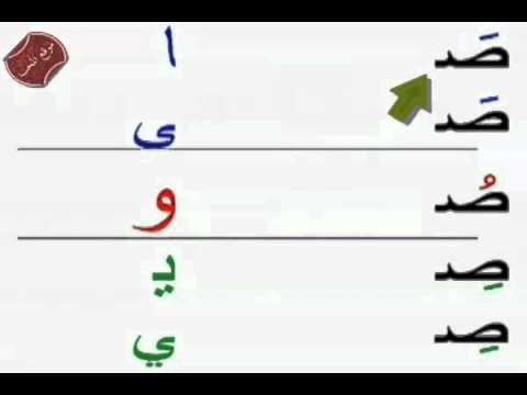 تعلم حروف المد للاطفال