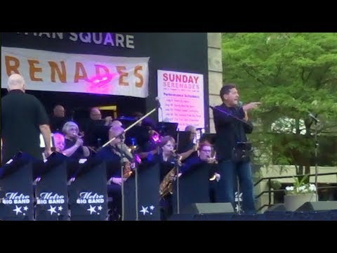 Metro Big Band performing at Sunday Serenades - Concert Tour 2017