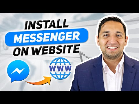 How To Install Facebook Messenger On Website