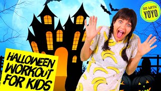 HALLOWEEN EXERCISES FOR KIDS | Move Along to This Halloween Story | 🎃Fitness for Children