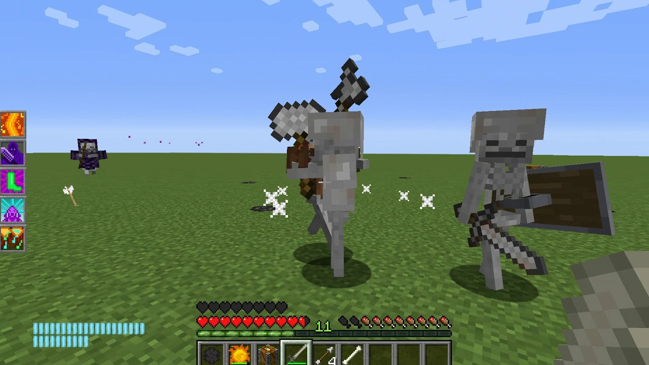minecraft rpg modpack with classes