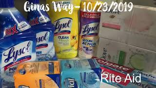 Rite Aid Couponing - Cheap Cleaning Products and Soap
