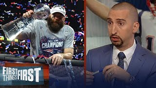Nick Wright questions Julian Edelman's HOF chances, talks Patriots legacy   NFL   FIRST THINGS FIRST