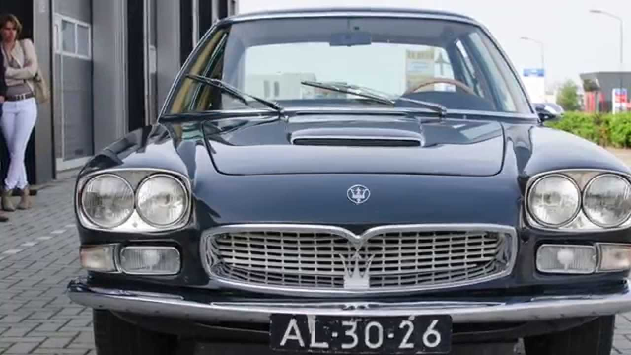 Maserati Quattroporte I Series I 1965 Youtube