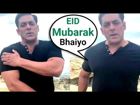 Salman Khan Wishing Eid Mubarak 2018