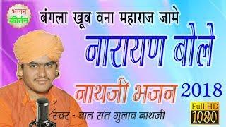 नारायण बोले    चेतावनी भजन    नाथजी की वाणी    Gulab Nathji    Bhajan Kirtan