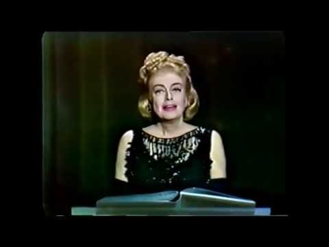 """Joan Crawford Recites """"A Prayer for Little Children"""" (Hollywood Palace 1965)"""