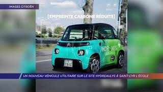 Yvelines | Un nouveau véhicule utilitaire sur le site Hydreaulys à Saint-Cyr-L'Ecole