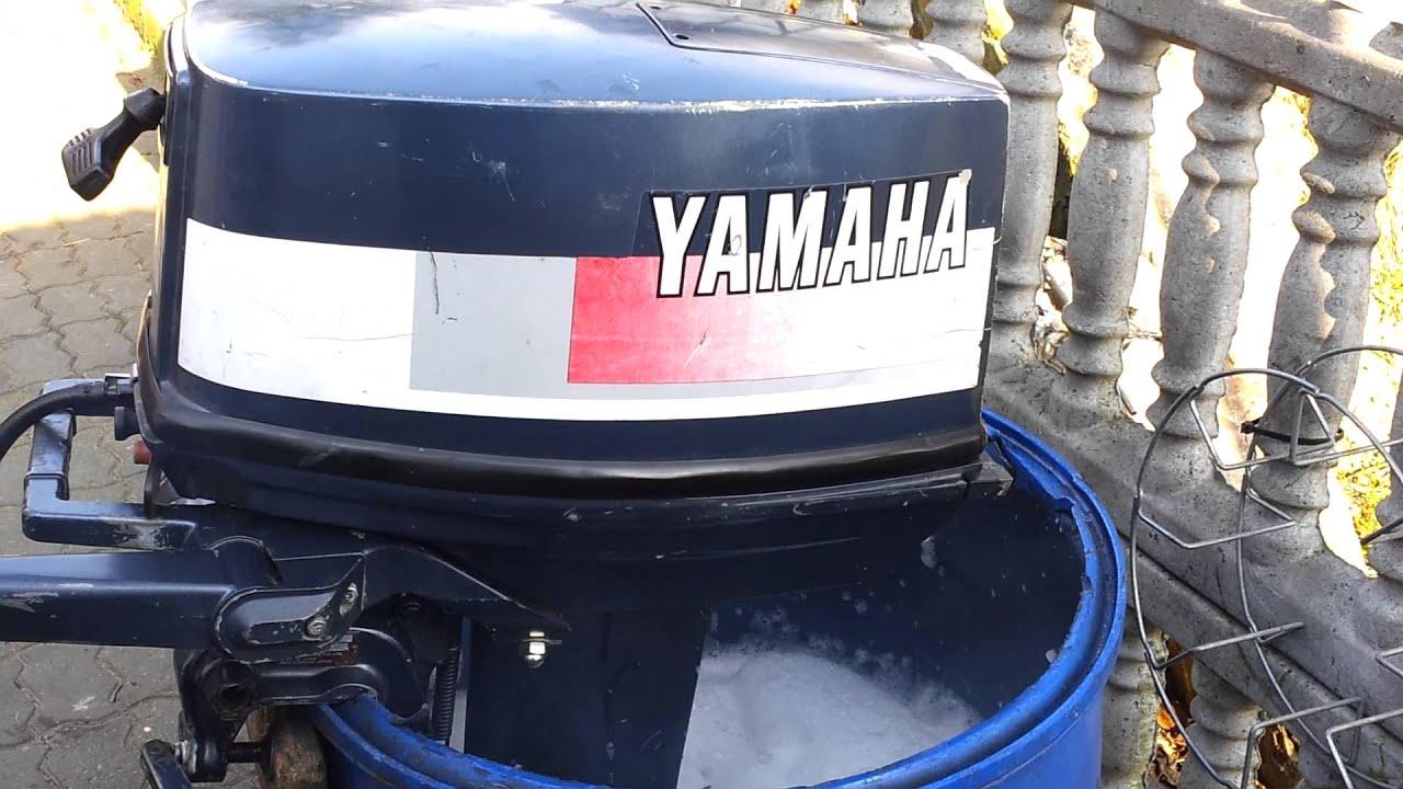 Yamaha 20 Hp Outboard Motor 2 Stroke Dwusuw Youtube