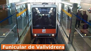 Funicular de Vallvidrera: Vallvidrera Inferior - Vallvidrera Superior (FGC Barcelona)