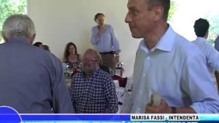 Cañuelas - Marisa Fassi y Gustavo Arrieta despidieron el año con empresarios del Parque Industrial.