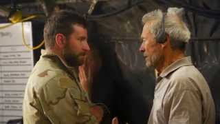 American Sniper: Behind the Scenes Movie Broll 2- Bradley Cooper, Clint Eastwood, Sienna Miller
