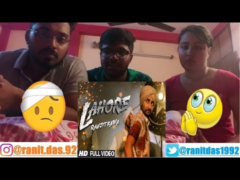 Ranjit Bawa Lahore (Official) Full Video|Reaction W/ FRNDS