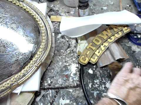 Resin  Horns of Odin Mjolnir and  Title belt