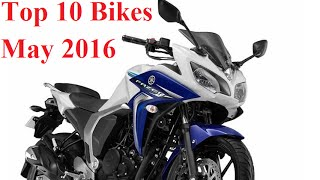 Top 10 Bikes under 1 Lakh   May 2016
