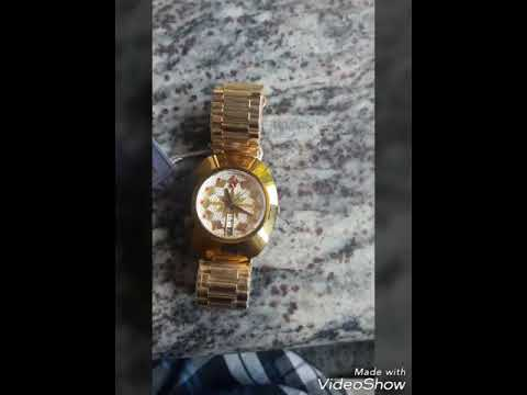 Gold Rado the original diastar watch review (Automatic watch)