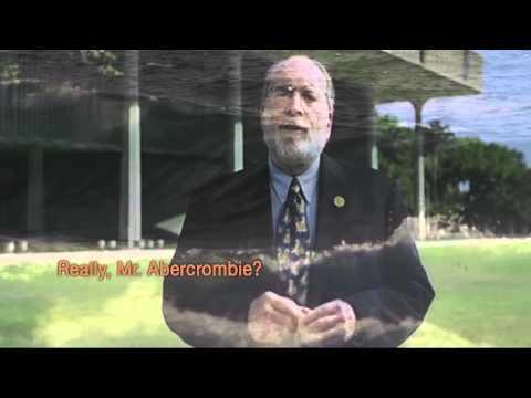 "RGA TV Ad: Hawaii - Neil Abercrombie ""Really?"""