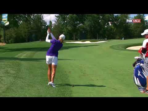 Stacy Lewis' Golf Swing Super Slow Motion DTL 2017 US Women's Open USGA LPGA