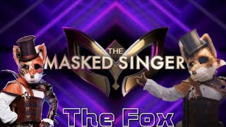 Wayne Brady as The Fox - Every Solo Performance & Reveal! - The Masked Singer Season 2