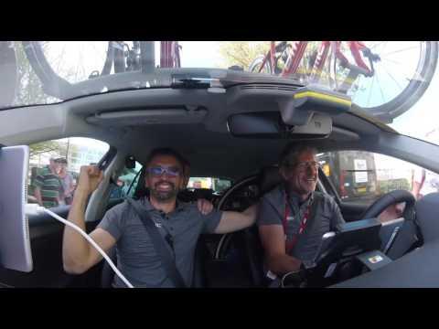 Paris Roubaix | BMC Team Car Celebration
