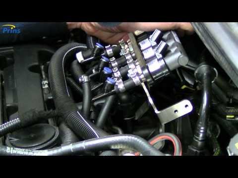Part 3 Installing the injector rail VSI-2.0 LPG