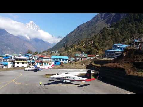 Traveling Nepal at Lulka Airpirt Tenzing Hillary AirportA Detailed Video