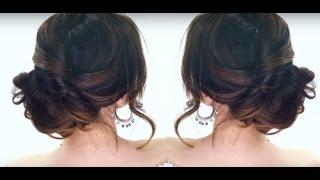 видео Вечерние укладки на длинные волосы самостоятельно