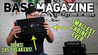 Phil Jones - Compact 2 - C2 Bass Cabinet Review
