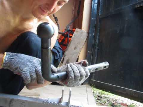 Фаркоп своими руками Ваз Гранта Датсун Калина,размеры,крюк,шар, прицепное устройство!!!