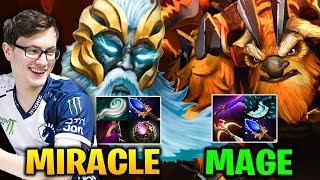 MIRACLE ZEUS vs MAGE ES - Pure Magic Dmg vs Right Click Earthshaker Build