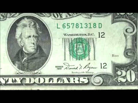 CURRENCY HUNTING REVEALS series 1981 $20 BILL