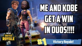 ME AND KOBE0802 GET A DUO WIN ON MY BIRTHDAY! - FORTNITE 501ST LEGION GAMEPLAY VICTORY ROYALE