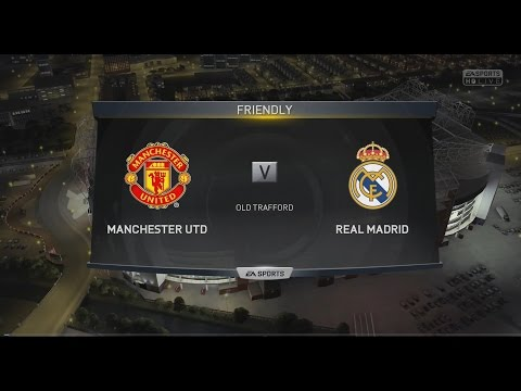 (PS4) FIFA 15 | Manchester United vs Real Madrid - Next-Gen Full Gameplay (1080p HD)