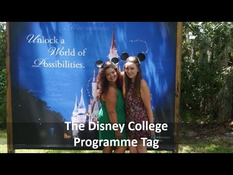 DCP (Disney College Programme) TAG!