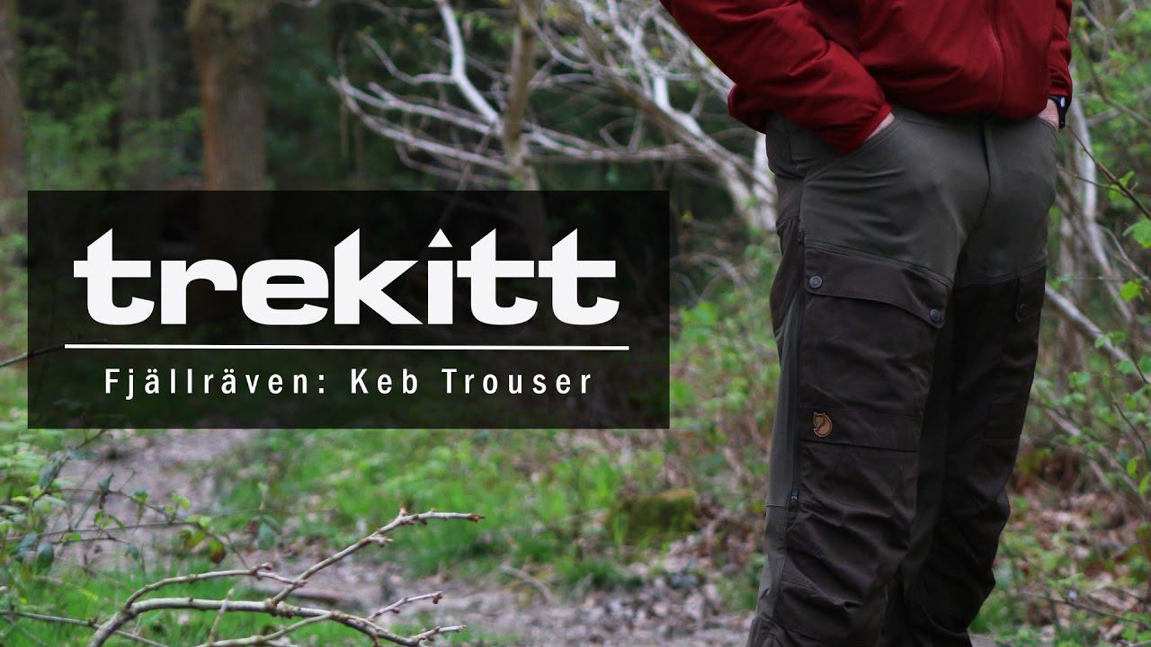 caf7069ff1c Inside Look: Fjällräven Keb Trousers - YouTube