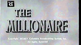MILLIONAIRE, THE opening credits CBS drama