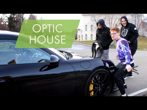OPTIC HOUSE REACTS TO MY NEW CAR!!