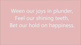 Purity Ring - Lofticries w/ lyrics
