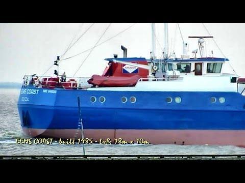 EEMS COAST PEFI IMO 8418019 coaster cargo seaship merchant vessel KüMo