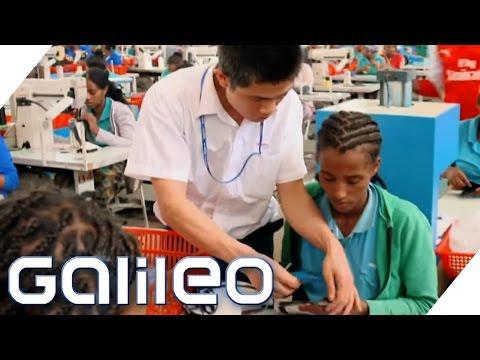 Made in China goes Afrika | Galileo | ProSieben