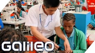 Made in China goes Afrika | Galileo | ProSieben