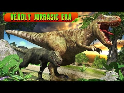 Ultimate T-Rex Simulator 3D (by Tapinator Inc) Android Gameplay [HD]