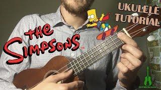Download Lagu UKULELE THE SIMPSONS LITTLE PART UKULELE TUTORIAL MP3