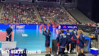 USA vs Japan - Volleyball Nations League 2019